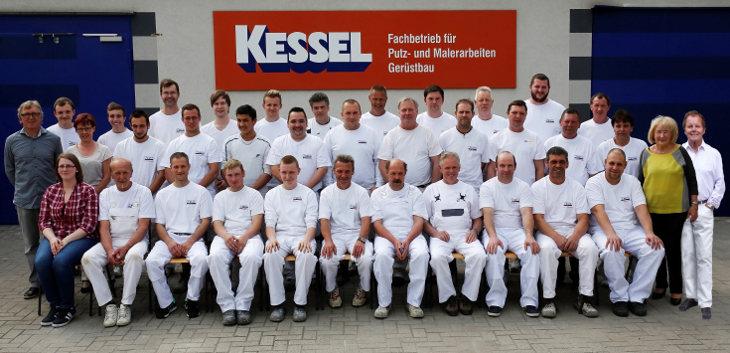 Belegschaft Firma Bruno Kessel GmbH (28.04.2014)